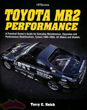 MR2 PERFORMANCE TOYOTA BOOK OWNERS GUIDE MANUAL SHOP SERVICE HELCK SPYDER