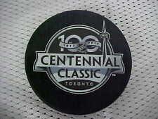 Official 2017 NHL Toronto Maple Leafs 100 Centennial Classic Souvenir Puck