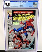 The Amazing Spider-Man #361 CGC 9.8! 2nd Print! Key Issue! Carnage! Venom! NM/MT