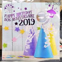 2019 Happy Birthday Gift 5-coin Set $2, specially struck $1, 25c, 10c, 5c Canada