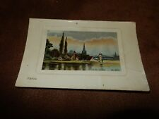 Early H.V & Co postcard- Marlow scene Oxfordshire