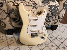 1996 MIM Fender Strat LOADED BODY Stratocaster Vintage Cream/Blonde!