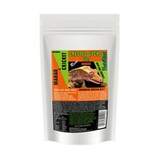 HabiStat Crested Gecko Diet Real Mango With Added Crickets 60g Resealable Packet