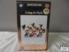 Going In Style VHS (Clamshell) George Burns, Art Carney, Lee Strasberg; Brest