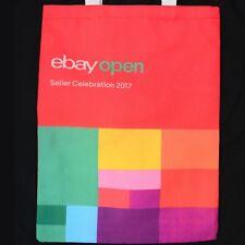 Ebay Open Seller Celebration 2017 Fabric Tote Swag Bag shopping bag