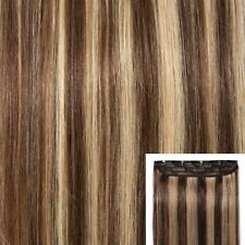 "US Clip In Remy Real 100% Human Hair Extensions One Piece 18""-22"" 50G+ hq"