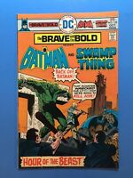 THE BRAVE AND THE BOLD #122 Batman & Swamp Thing DC 1975 Very fine comic!