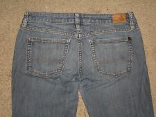 Bullhead Size 5 Long Super Skinny Medium Blue Stretch Denim Womens Jeans