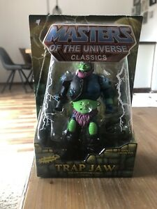Masters Of The Universe Classics - Trap Jaw - 100% Komplett Complete MotU He-Man