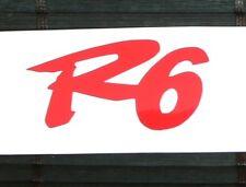adesivo R6 Yamaha moto decal vinile vinyl sticker yzf sbk big bang 600cc
