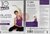 10 Minute Solution PILATES FOR BEGINNERS workout DVD (Region 4 Australia)