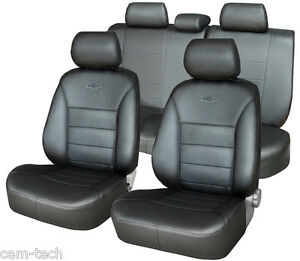 for HYUNDAI SANTA FE SEAT COVERS PERFORATED LEATHERETTE
