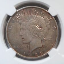 1922 Peace Dollar NGC Certified AU 50 Old 90%Silver Philadelphia Mint Coin   144
