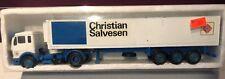 1:50 Scale NZG CHRISTIAN SALVESEN Mercedes Benz Die-Cast Semi Tractor Trailer MB