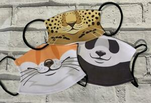 Animal Face Mask with filter, Face Covering, Childs Face Mask, Adults Face Mask