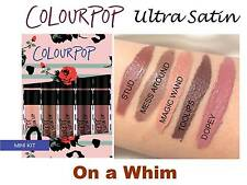Colourpop ON A WHIM Ultra Satin Mini Kit