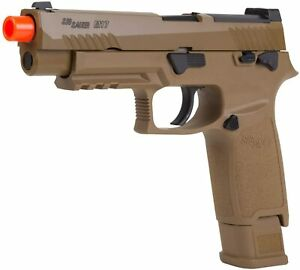 Sig Sauer Pro Force M17 Green Gas Blowback Airsoft Pistol Coyote Tan