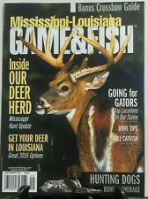 Mississippi Louisiana Game & Fish Sept 16 Inside Our Deer Herd FREE SHIPPING sb