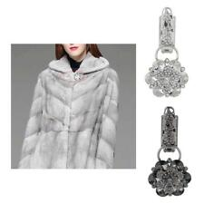 Alloy Crystal Duck-mouth Buckle Fasteners Clasps Buckle for Sweater Coat Wedding