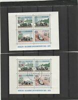 Berlin 50 Jahre Avus-Rennen 1921-1971 gestempelt und postfrisch