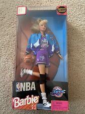 Nib 1998 Blonde Nba Utah Jazz Barbie Doll