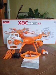 Syma X8C Venture with 2MP Wide Angle Camera 2.4G 4CH RC Quadcopter - Orange