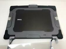 """Dell Latitude E6400 XFR  top lid cover 14.1"""" LCD  Complete Top with screen"""
