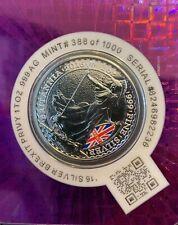 Brexit Privy 2016 Britannia 1 oz .999 Silver Coin Sealed in Certi-Lock