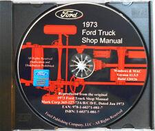 1973 Ford Truck Shop Manual (CD-ROM)