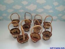 MINI WICKER BASKETS PARTY FAVORS CRAFTS - NEW