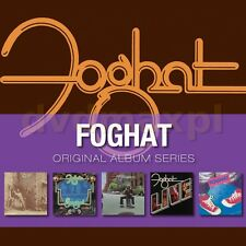 Foghat ORIGINAL ALBUM SERIES Box Set LIVE Fool For The City ENERGIZED New 5 CD