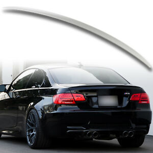 ABS M3 Style Trunk Rear Spoiler Aero Wing For BMW 3 Series Coupe E92 Unpainted