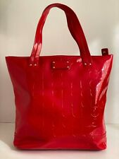 Kate Spade, Red Patent Tote