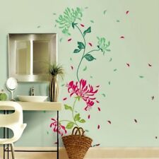 Blossom Flower Wall Stickers Large Mum Floral Spring Flower Wall Decal Mural