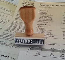 BULLSHIT Rubber Stamp