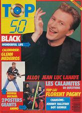 TOP 50 108 (28/3/88) BLACK GEORGE MICHAEL ANIMO FRANCE GALL JEAN-LUC LAHAYE
