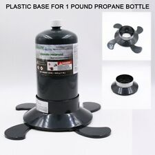 Propane Cylinder Bottle Tank Base Supports 16 OZ Canisters Camping Outdoors