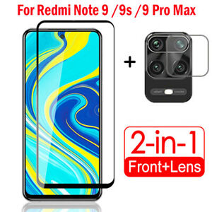For Xiaomi Redmi Note 9S 9 Pro Max Tempered Glass Camera Lens Screen Protector ~