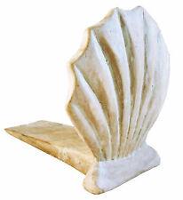 Door Stopper - Scallop Shell Door Stop - Scallop Shell Doorstop - White Wash