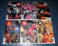 X-MEN DX 1 2 3 4 5 1st print Jonathan Hickman MARVEL 2019 wolverine DAWN OF X NM