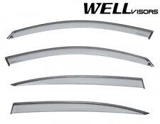 For 17-Up Honda CR-V CRV WellVisors Rain Guard Window Visors with Chrome Trim