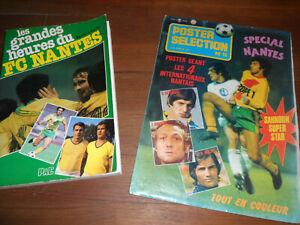 lot de revues football FC Nantes 70's