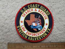 Us Coast Guard embroidered patch > Galveston, Texas