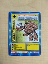 Guardromon MP-73 Rare French Digimon Card From Mega Pack