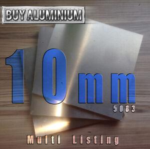 10mm Aluminium plate - 5083