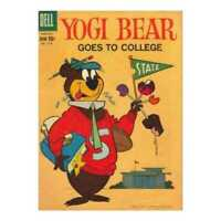 Yogi Bear (1959 series) #2 in Fine minus condition. Dell comics [*4c]