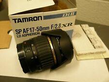 Tamron SP AF17-50mm F/2.8XR