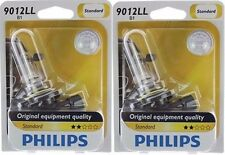 2x Philips 9012 Long Life HIR2 Upgrade Headlight Bright Light Bulb 55W High Low