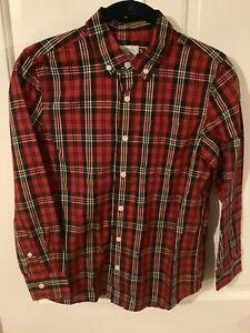 NWOT True Craft Boy's long sleeve button up shirt, size 10-12