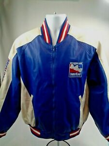 Indianapolis Motor Speedway Licensed Indy Racing Jacket White Blue Sz M Full Zip